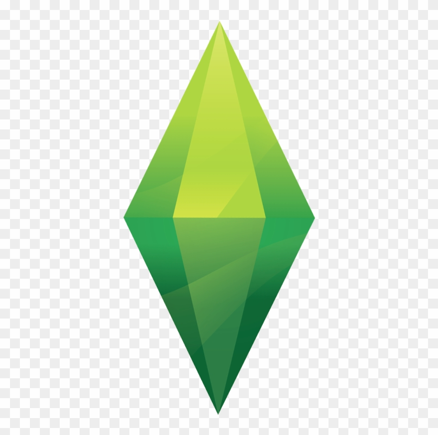 Sims logo clipart png library stock Sims 4 Plumbob Png Clipart (#1359038) - PinClipart png library stock