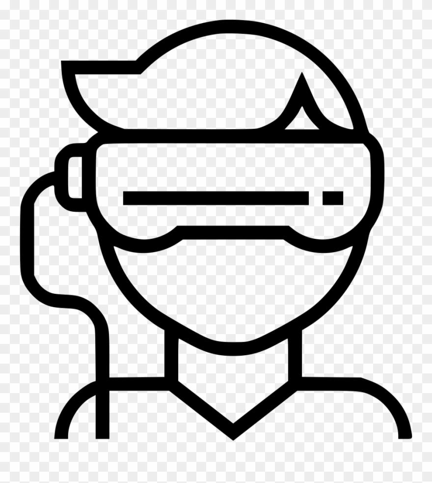 Simulator clipart svg royalty free library Gadget, Glasses, Oculus, Simulator, Technology, Virtual - Vr ... svg royalty free library