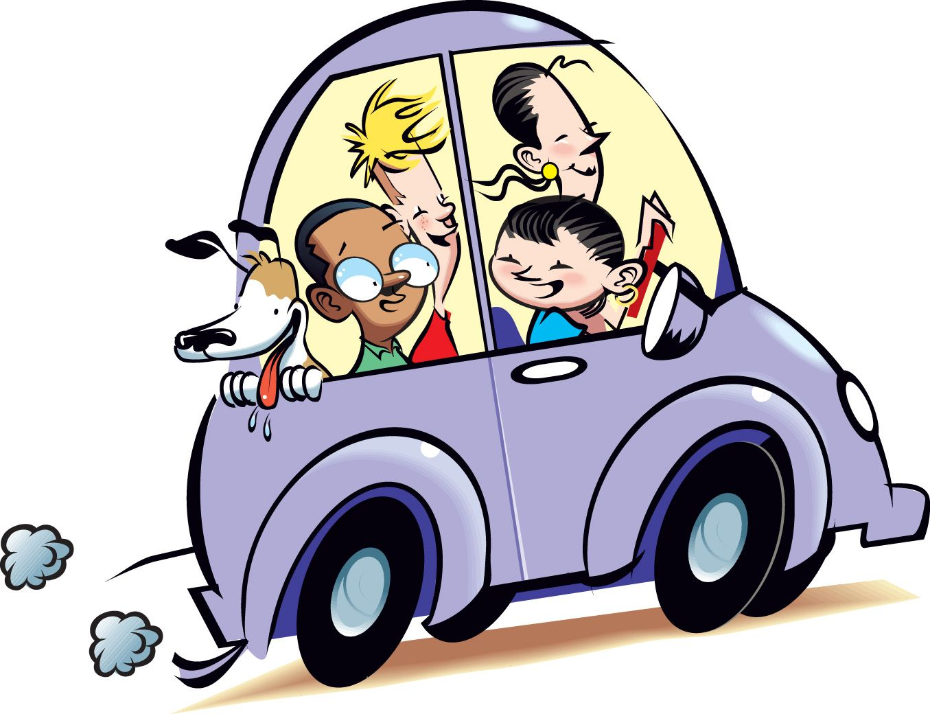 Sing in car clipart jpg royalty free Family Car Clipart | Clipart Panda - Free Clipart Images ... jpg royalty free