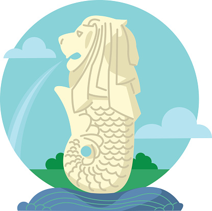 Singapore merlion clipart transparent stock Lion, Merlion, Mermaid, Seahorse, Fish png clipart free download transparent stock