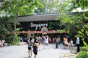 Singapore zoo clipart clip download Singapore Zoo - Wikipedia clip download