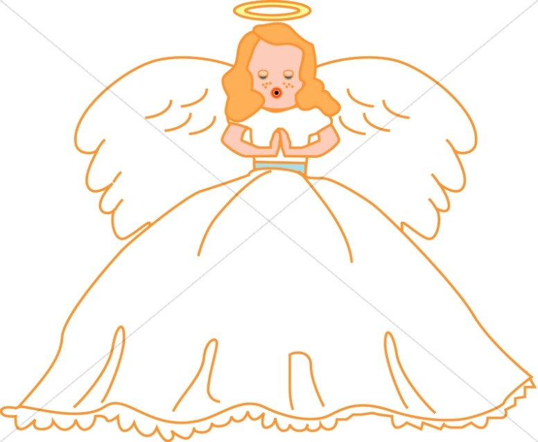 Singing angel clipart svg black and white download Singing Angel Clipart | Angel Clipart svg black and white download