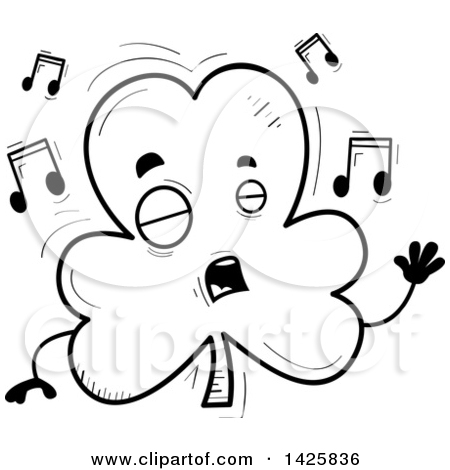 Singing book character clipart image freeuse library Royalty Free Singing Illustrations by Cory Thoman Page 1 image freeuse library