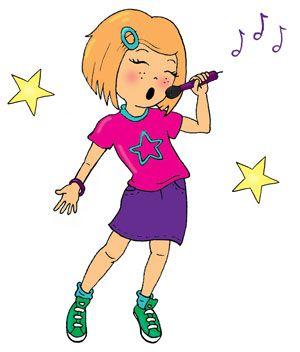 Singing girl images clipart svg stock Girl singing clipart 1 » Clipart Station svg stock