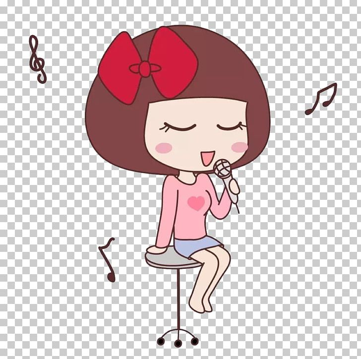 Singing girl images clipart jpg free library Singing Cartoon Girl PNG, Clipart, Art, Baby Girl, Child ... jpg free library