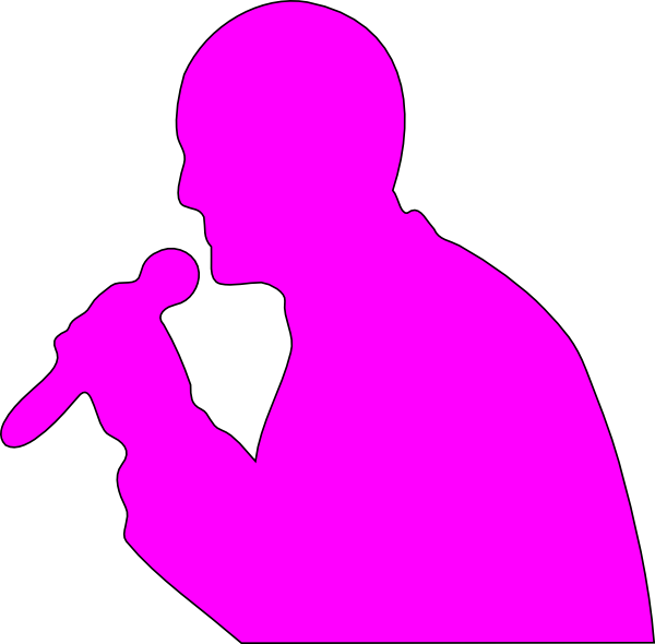 Singing in the car clipart banner freeuse library Singing Man Clip Art at Clker.com - vector clip art online, royalty ... banner freeuse library