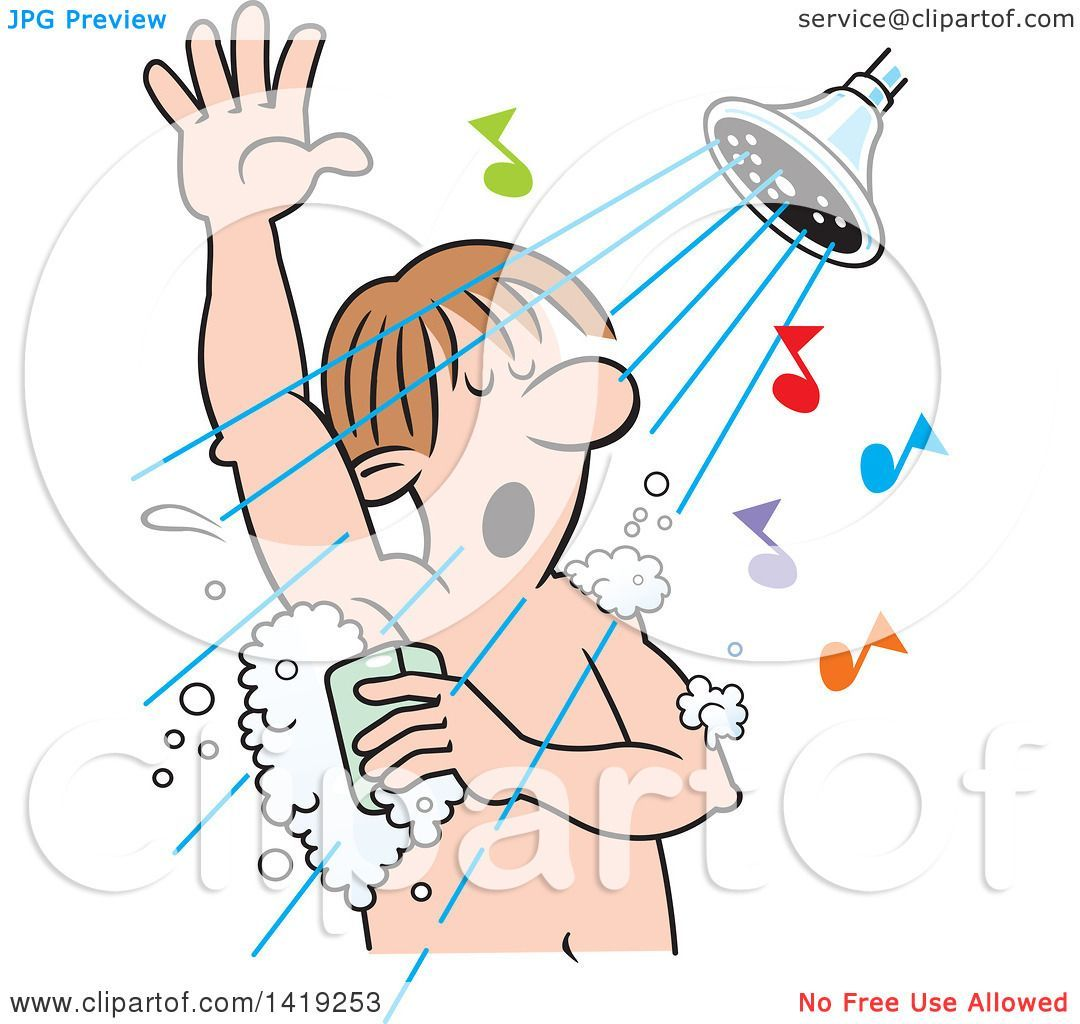 Singing in the shower clipart svg stock Singing in the shower clipart 3 » Clipart Portal svg stock