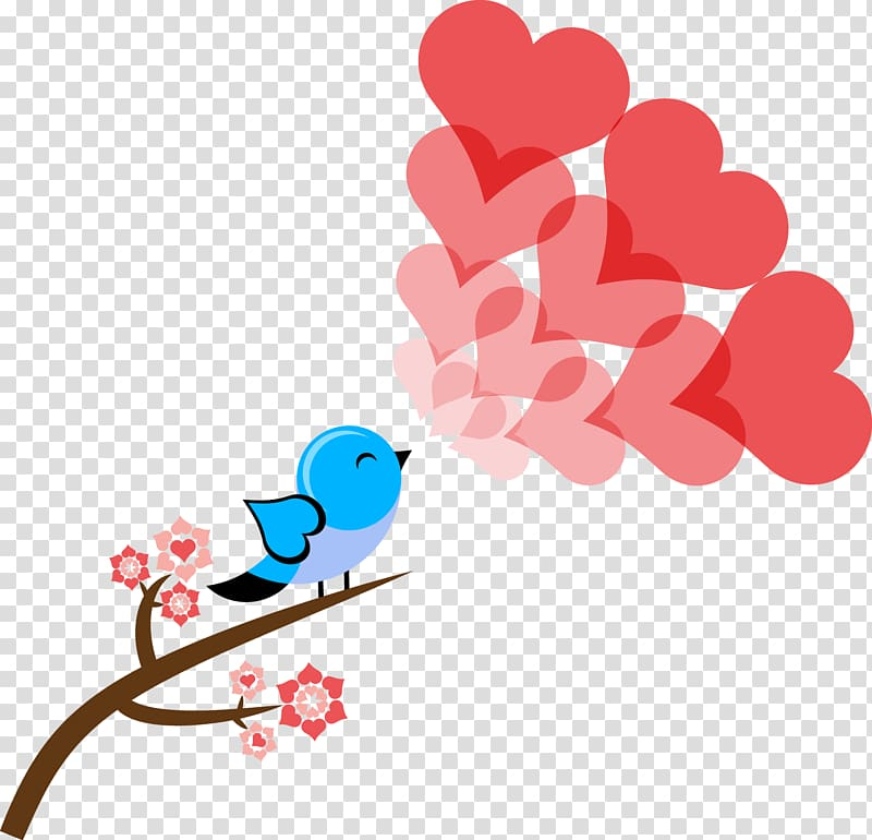 Singing lovebird clipart royalty free library Bird singing heartedly, love transparent background PNG ... royalty free library