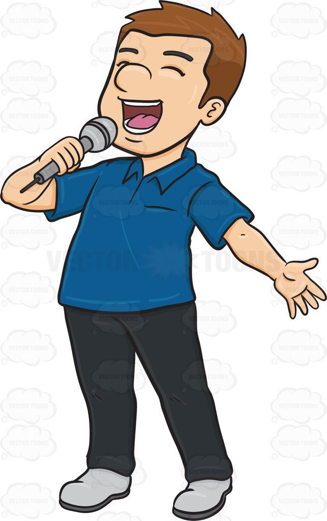 Singing man clipart clipart free stock Man singing clipart 2 » Clipart Portal clipart free stock