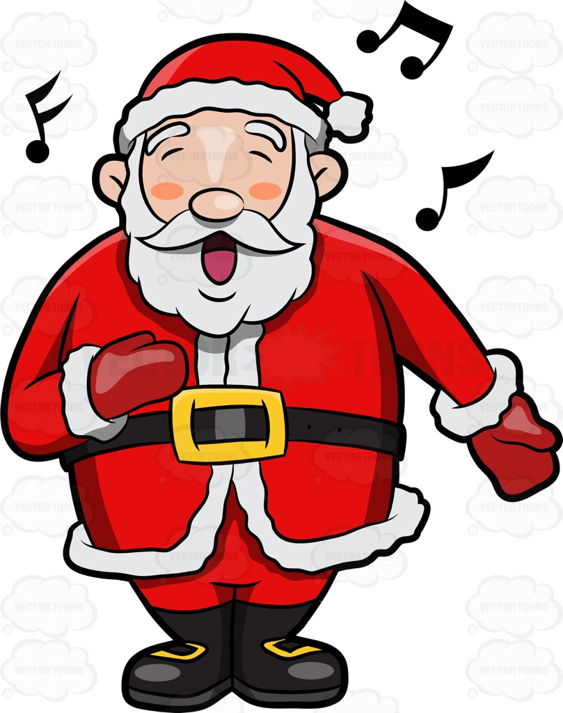 Singing santa clipart free jpg royalty free download Santa Claus Cartoon Images | Free download best Santa Claus ... jpg royalty free download