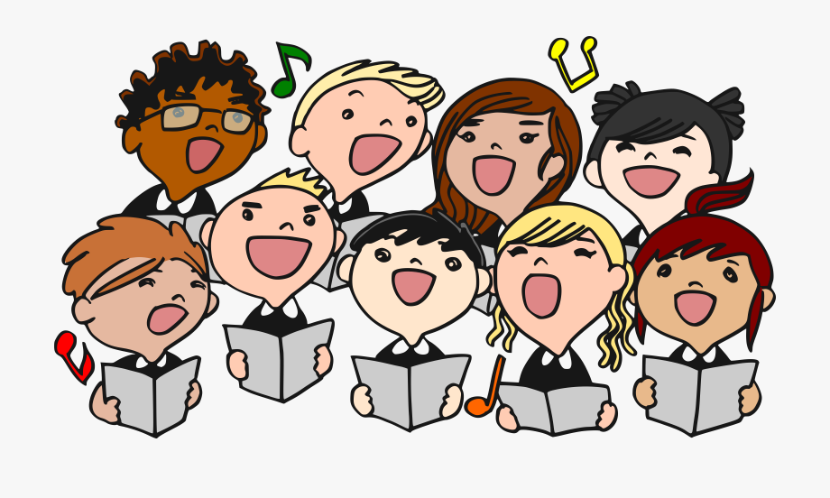 Singing time clipart svg black and white stock Singer Clipart Song Time - Sing In A Choir #48528 - Free ... svg black and white stock
