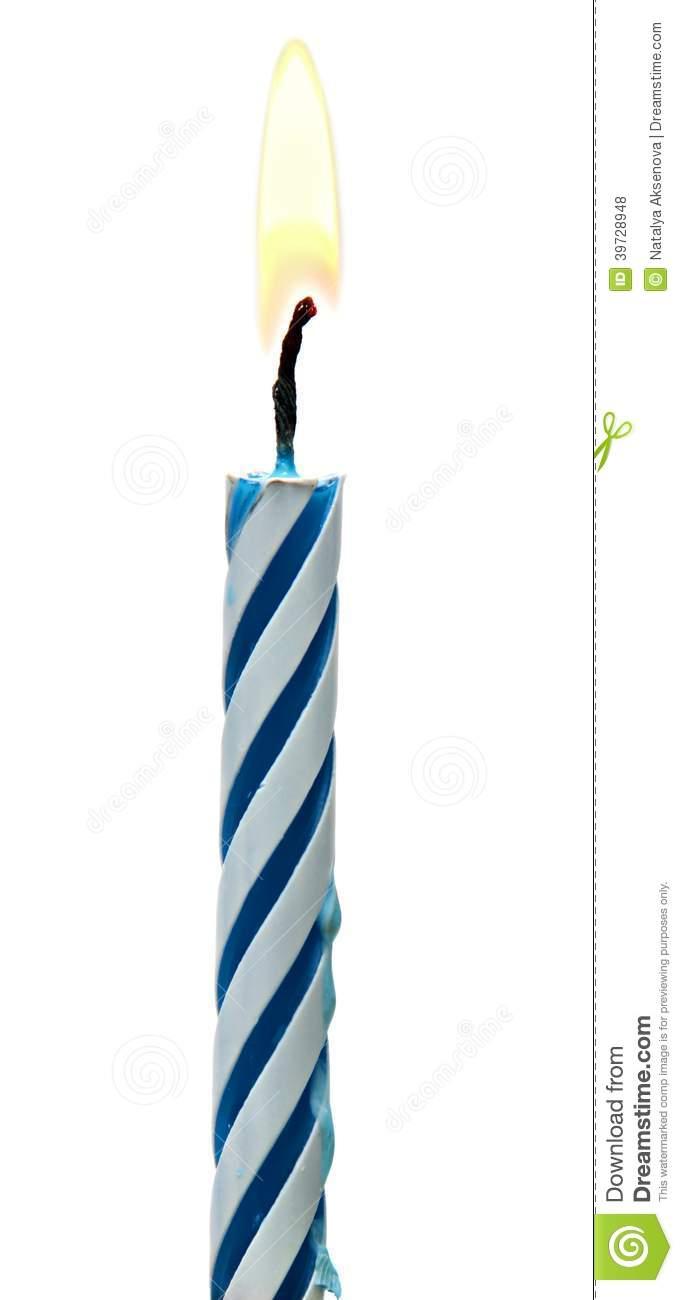 Single birthday candle clipart jpg free Clipart of single birthday candle without background - ClipartFest jpg free