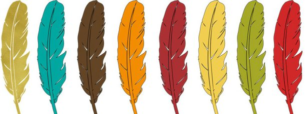 Single colored feather clipart royalty free download 23 Thanksgiving Feathers Clipart Collection royalty free download