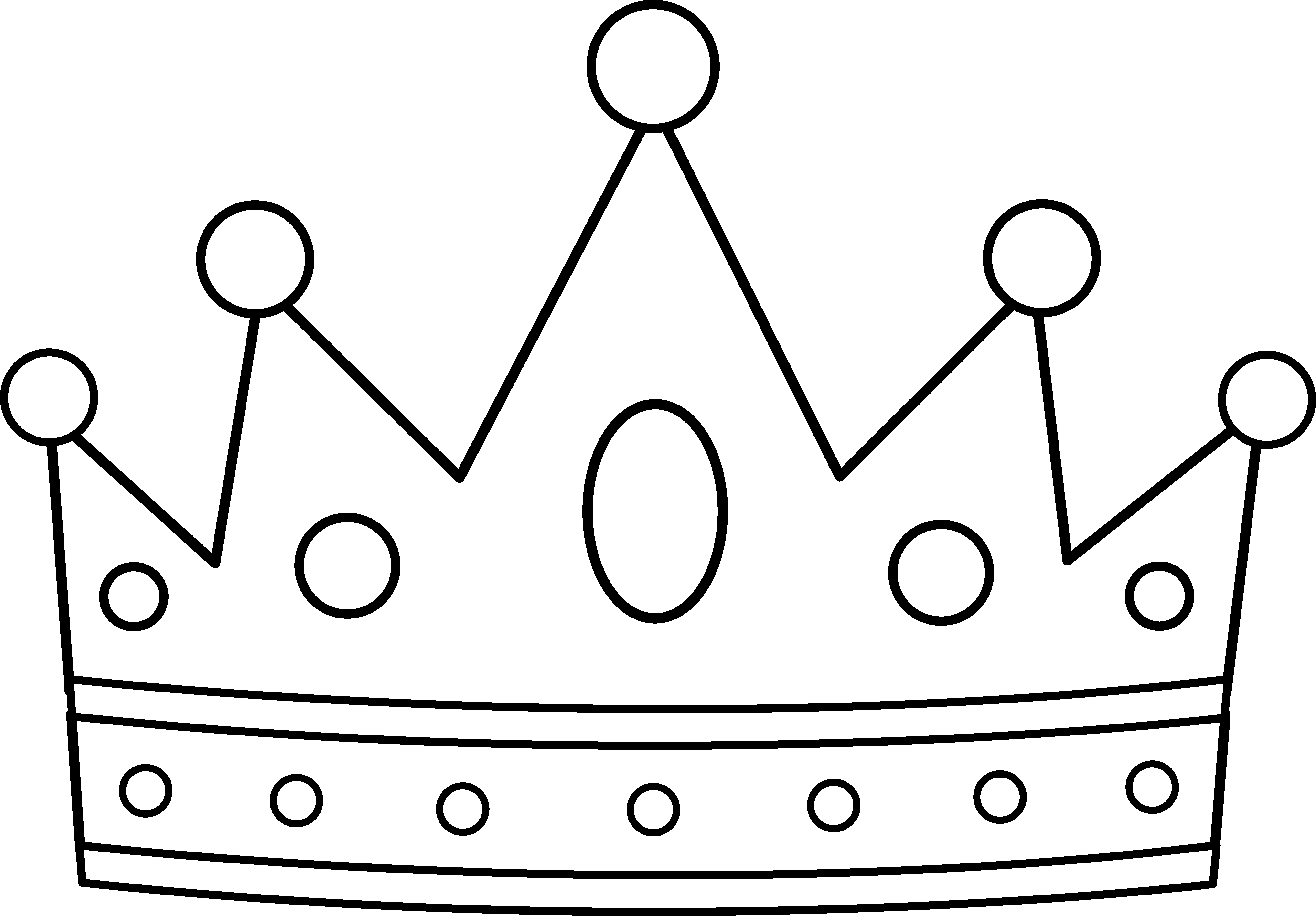 Single crown clipart free image black and white library Free Royal Crown Picture, Download Free Clip Art, Free Clip ... image black and white library