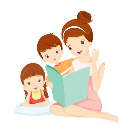 Library of single parent family vector stock png files ... (450 x 450 Pixel)