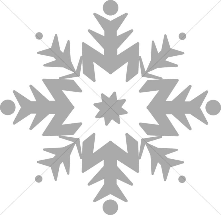 Single snowflake border clipart black and white banner black and white library Snowflake Images, Snowflake Clip Art, Winter Images - Sharefaith banner black and white library