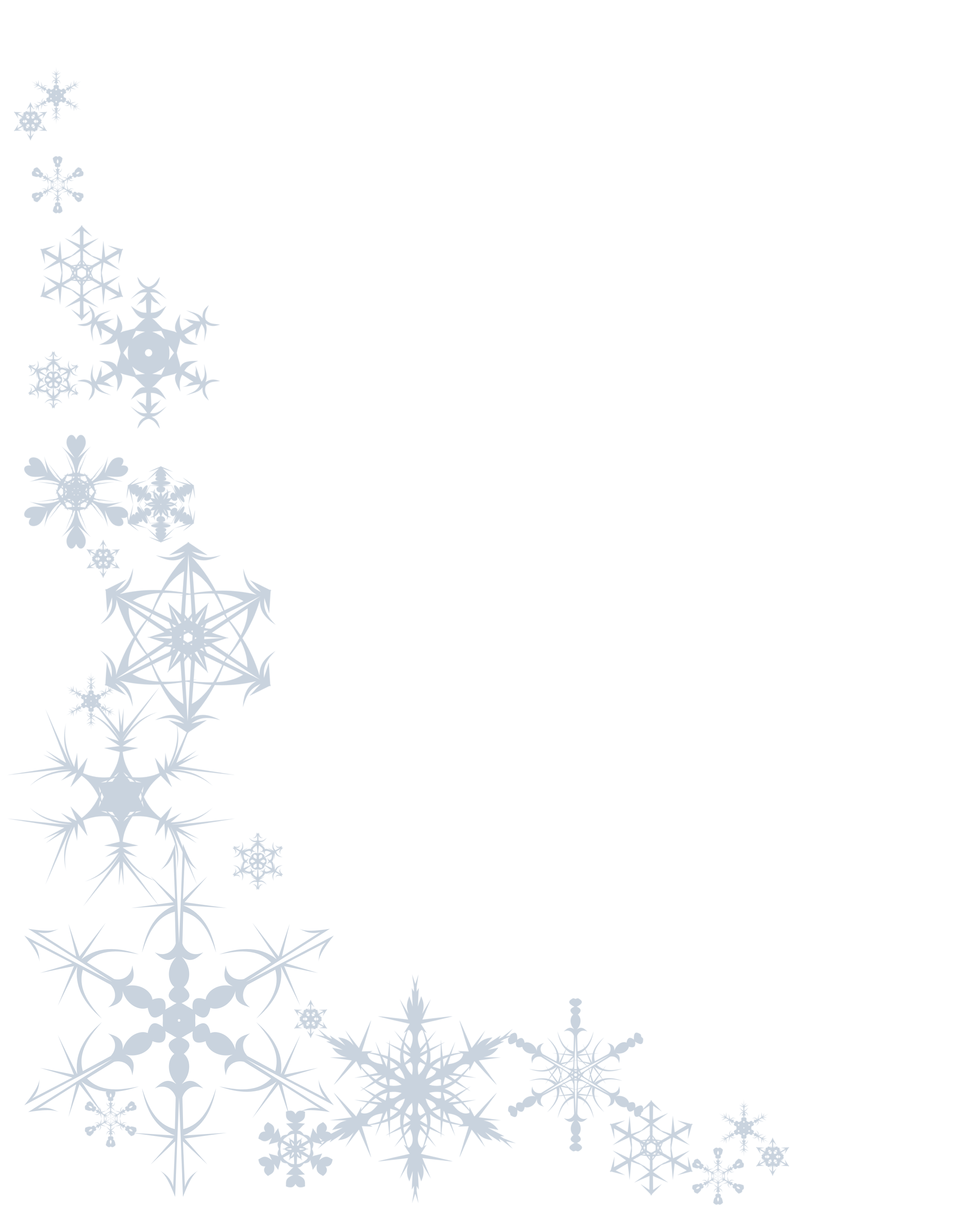 Snowman border clipart free clip royalty free library Free Snowflake Corner Cliparts, Download Free Clip Art, Free ... clip royalty free library