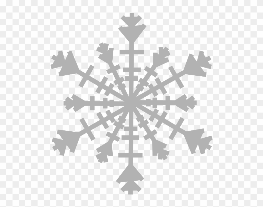Single snowflake border clipart black and white svg transparent library Snowflake Clipart Single Snowflake - Snow Crystal Png ... svg transparent library