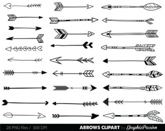 Single tribal arrow clipart jpg transparent download Single tribal arrow clipart - ClipartFest jpg transparent download