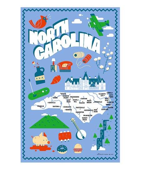 Sings north carolina clipart picture royalty free download Vestiges North Carolina Icons Dish Towel picture royalty free download