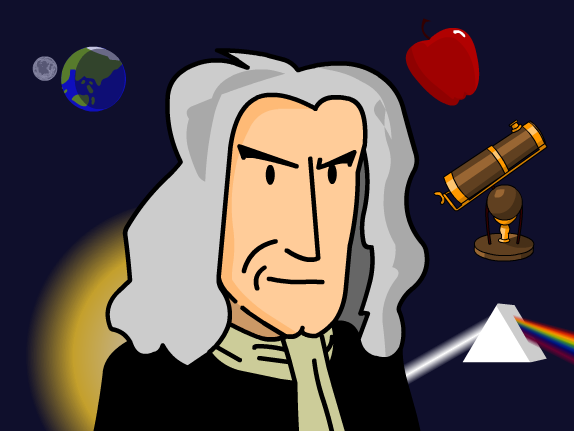 Sir isaac newton clipart banner royalty free download Isaac Newton - BrainPOP banner royalty free download