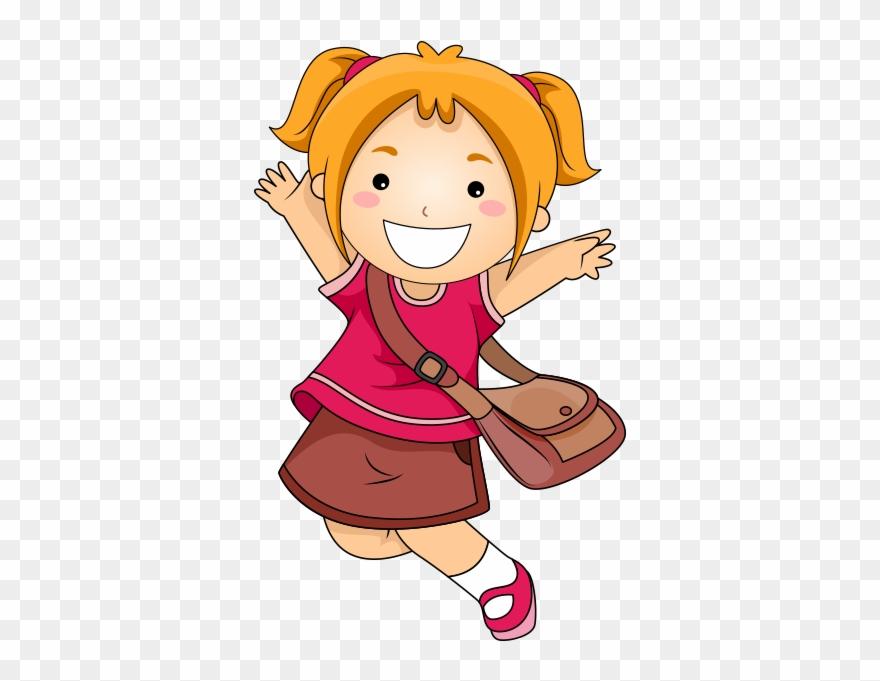 Sissor skills clipart banner freeuse Clipart Havaya Sıçrayan Mutlu Kız Çocuğu - Scissor Skills ... banner freeuse