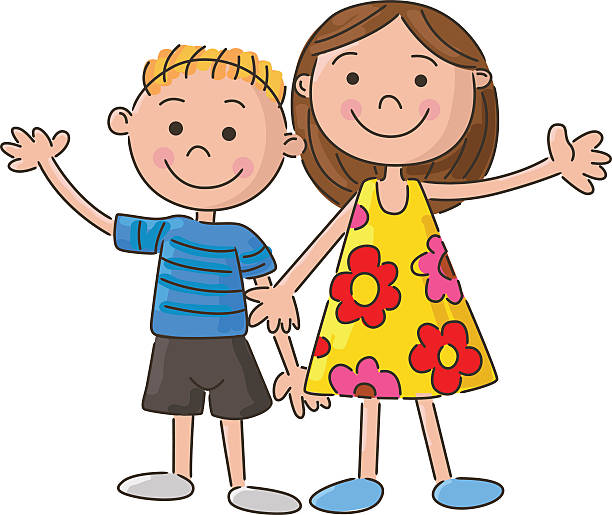 Clipart of a brother clipart freeuse download Brother and sister clipart » Clipart Station clipart freeuse download