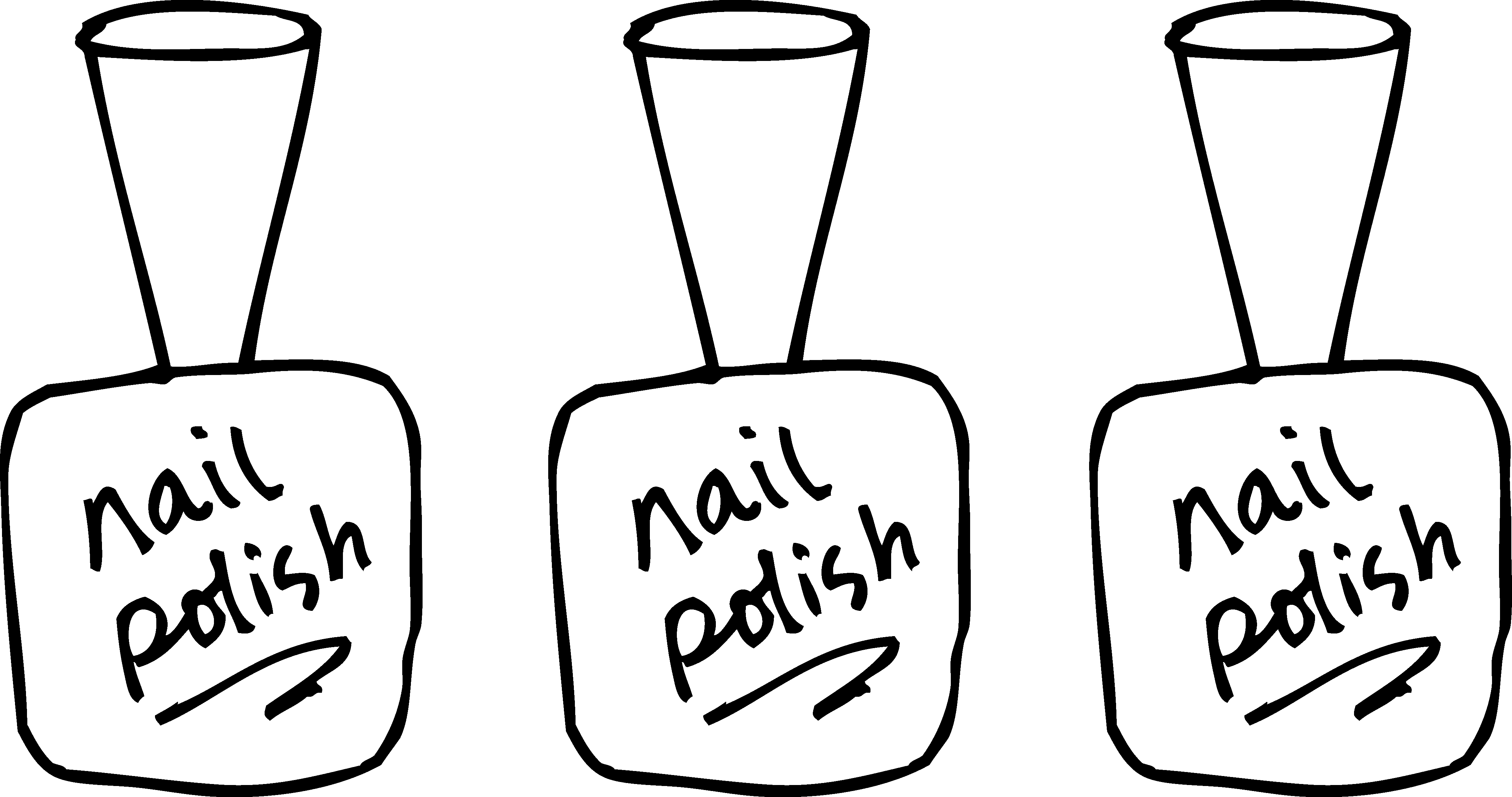 Site clipart free clip freeuse download Launching Nail Salon Coloring Pages Polish Page Free Clip Art #8038 clip freeuse download