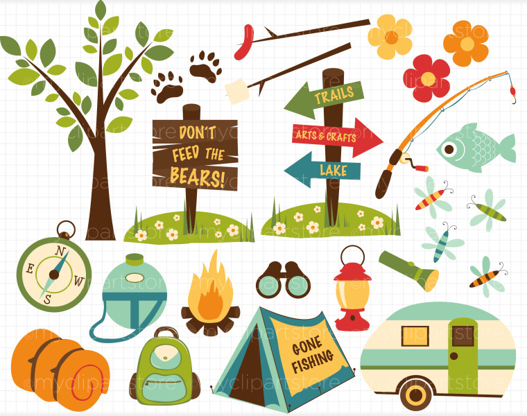 Site clipart free free Clip Art Free Camp Site – Clipart Free Download free