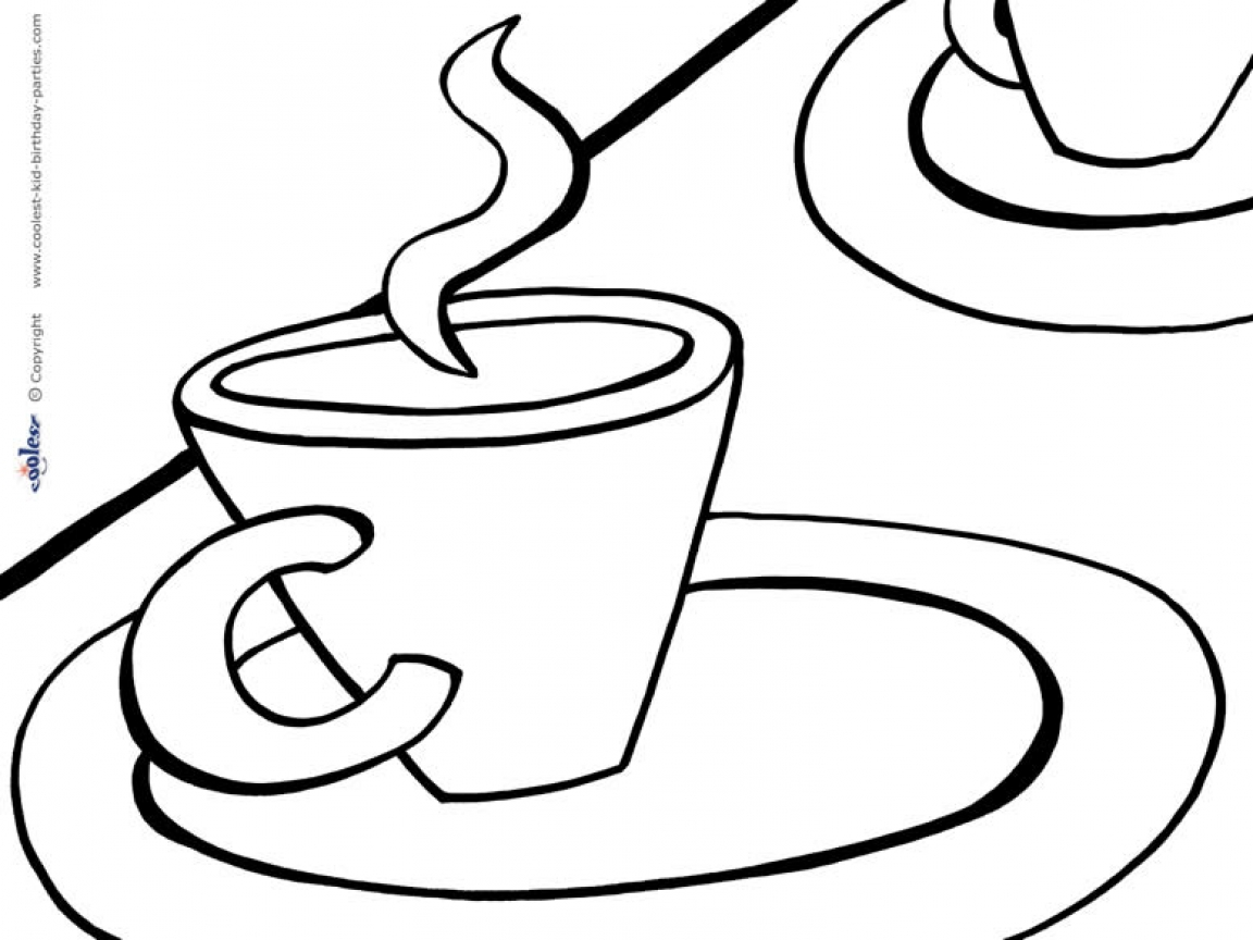 Site clipart wordpress graphic royalty free download Party Tea Cup Coloring Page, party tea cup coloring page just ... graphic royalty free download