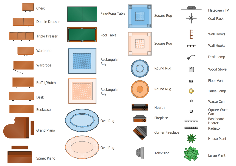 Site plan clipart clip art transparent library Floor Plans Solution   ConceptDraw.com clip art transparent library