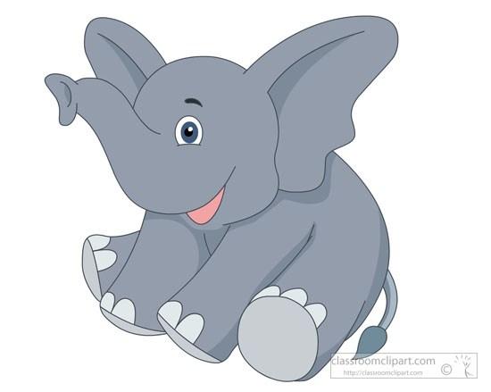 Sitting elephant clipart jpg free download Smiling baby elephant sitting clipart » Clipart Portal jpg free download
