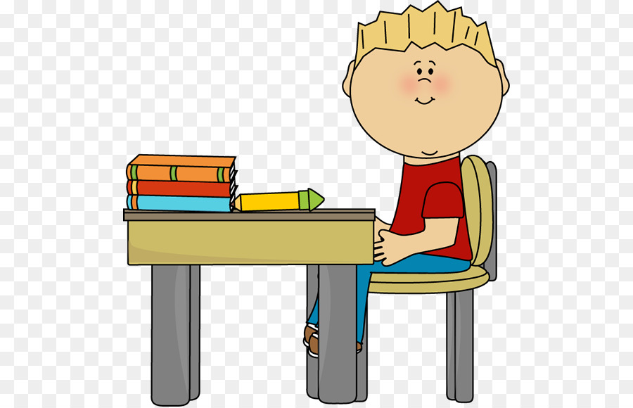 Sitting on chair clipart image free library Man Cartoon png download - 550*578 - Free Transparent ... image free library