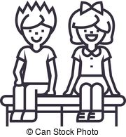 Sitting on bench clipart balck and white clip art freeuse download Bench Clipart Black And White (90+ images in Collection) Page 2 clip art freeuse download