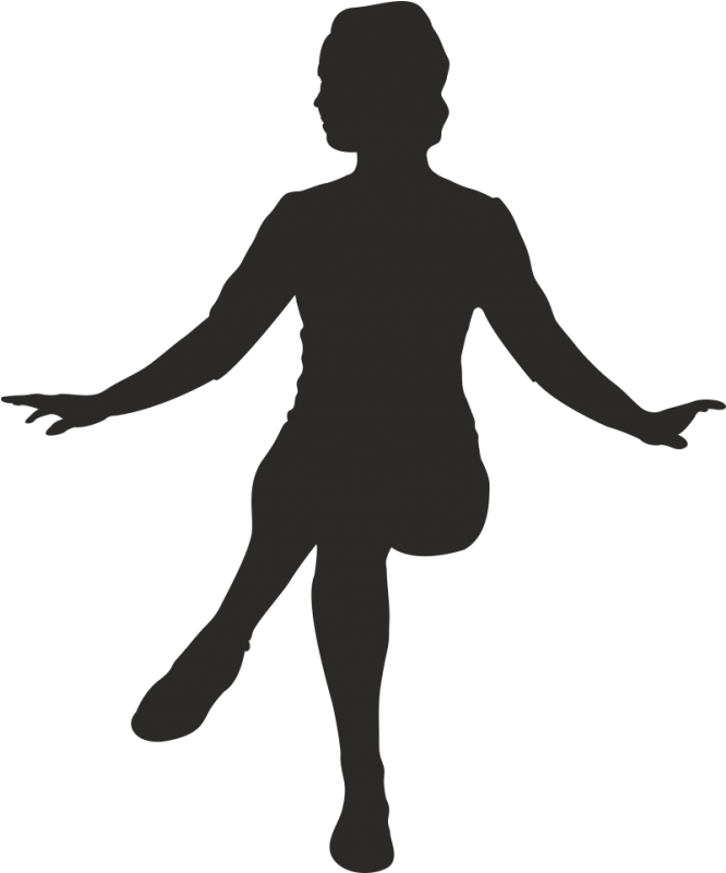 Sitting woman silhouette clipart black and white clipart stock Woman Arms Up Silhouette - Person Sitting Png Silhouette ... clipart stock