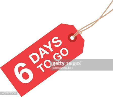 Six days clipart image royalty free download Six Days TO Go Sign premium clipart - ClipartLogo.com image royalty free download