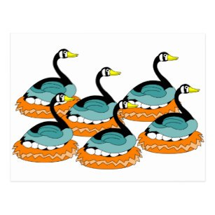 Six geese a laying clipart stock Six geese a laying clipart 1 » Clipart Portal stock