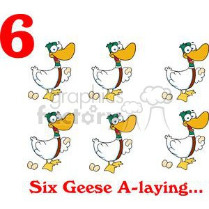 Six geese a laying clipart transparent stock Six geese a laying clipart 7 » Clipart Portal transparent stock