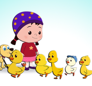 Six little ducks clipart svg freeuse download Six Little Ducks Popular Children\'s Song svg freeuse download