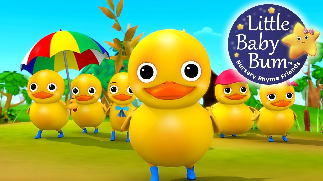Six little ducks clipart png freeuse Six Little Ducks | From Five Little Ducks | Nursery Rhymes | by  LittleBabyBum! png freeuse
