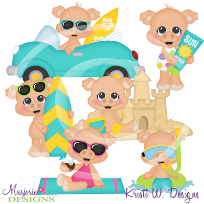 Sizzling hot clipart vector freeuse Sizzling Hot Summer SVG Cutting Files Includes Clipart ... vector freeuse