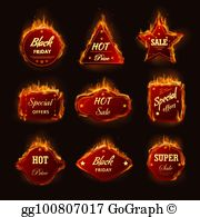 Sizzling hot clipart picture freeuse download Sizzling Hot Clip Art - Royalty Free - GoGraph picture freeuse download