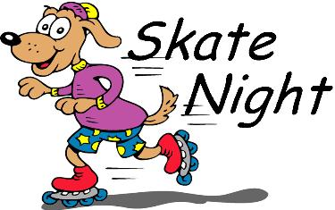 Skate night clipart graphic freeuse Skate Night - Southwest Early College High School graphic freeuse