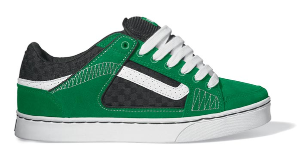 Skateboard shoes clipart svg black and white Vans Repeater Skate Shoe Green | Free Images at Clker.com ... svg black and white