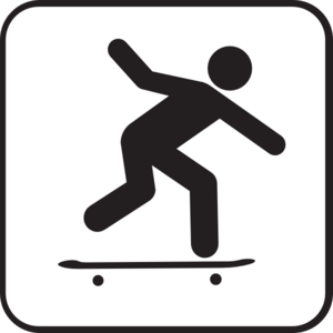 Skater clipart freeuse library Skater Clip Art at Clker.com - vector clip art online ... freeuse library