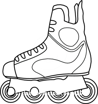 Skating clipart black and white image black and white library Free Rollerskating Cliparts, Download Free Clip Art, Free ... image black and white library