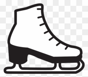 Skating clipart black and white graphic library download Ice Skating Clipart Black And White, Tra #130252 - PNG ... graphic library download