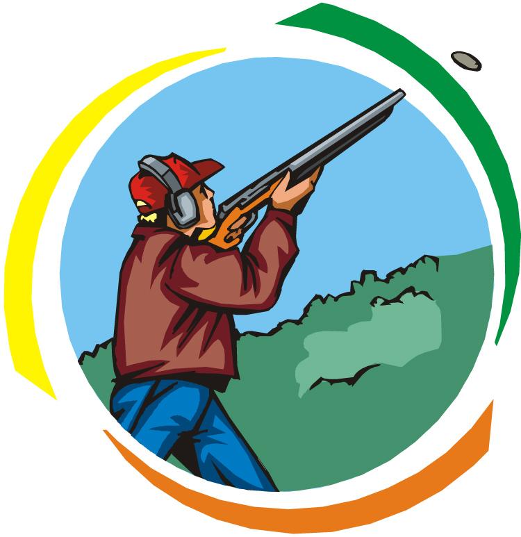 Skeet shooting clipart banner freeuse Skeet Shooting Clip Art free image banner freeuse