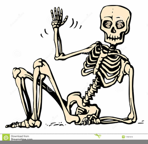 Skeletan clipart picture black and white stock Free Human Skeleton Clipart | Free Images at Clker.com ... picture black and white stock