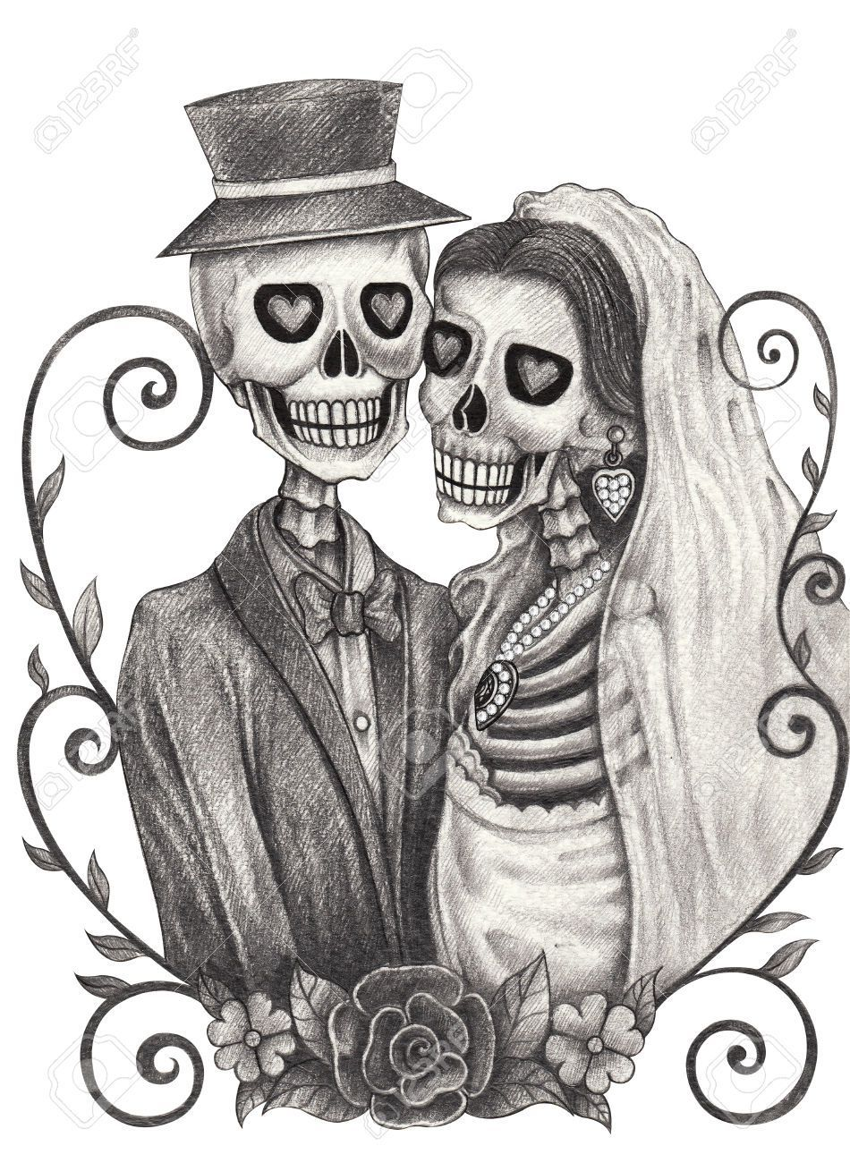 Skeleton bride and groom clipart jpg transparent stock Skeleton bride and groom clipart 8 » Clipart Portal jpg transparent stock